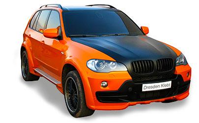 BMW - Teilfolierung