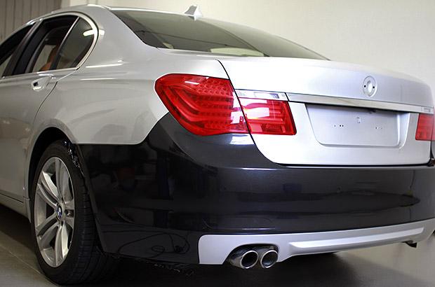 Vollfolierung BMW Schwarz