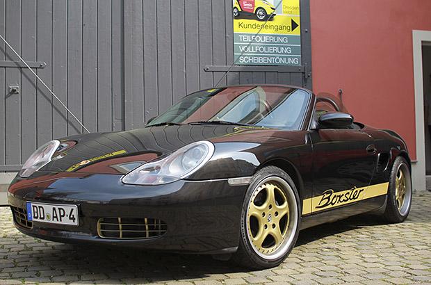 Designfolierung Porsche