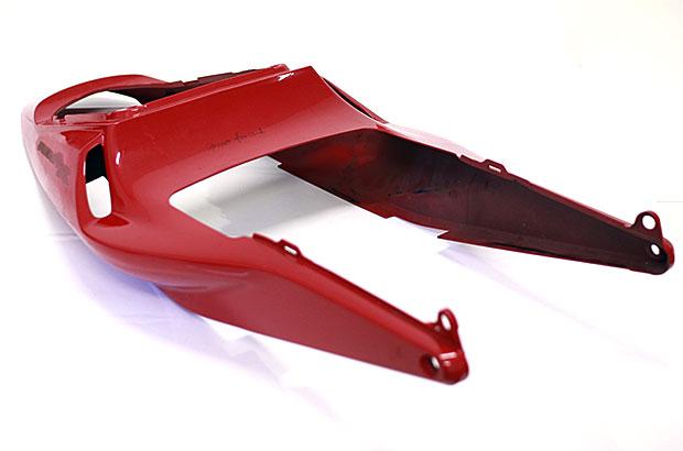 Teilfolierung Motorradteile