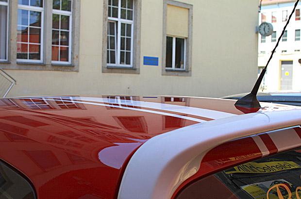 Designfolierung Ralleystreifen Renault