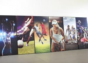 Sport Bilder Digitaldruck