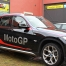 BMW X1 Safety Car Designfolierung