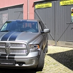 Vollfolierung Dodge Ram