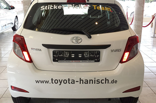 Toyota Yaris Radio Dresden