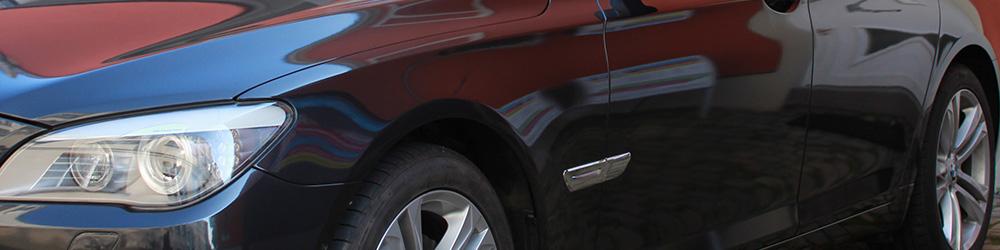 BMW 740 vollfolierung schwarz