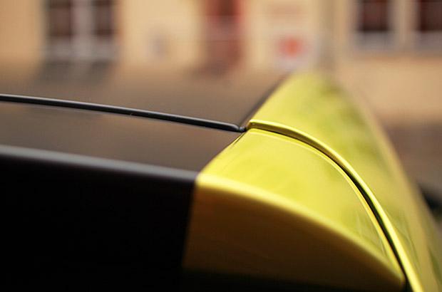 Seat Ibiza Teilfolierung Dach