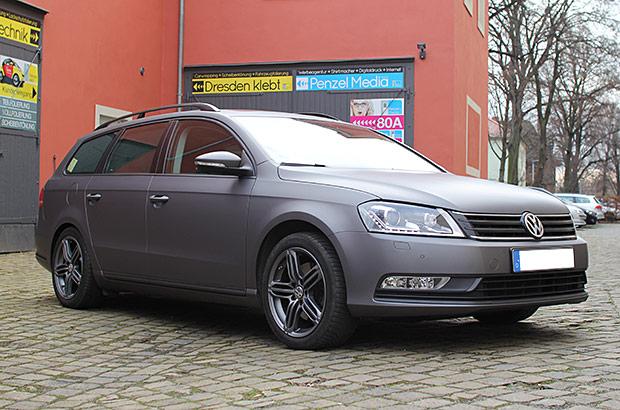 VW Passat Vollfolierung