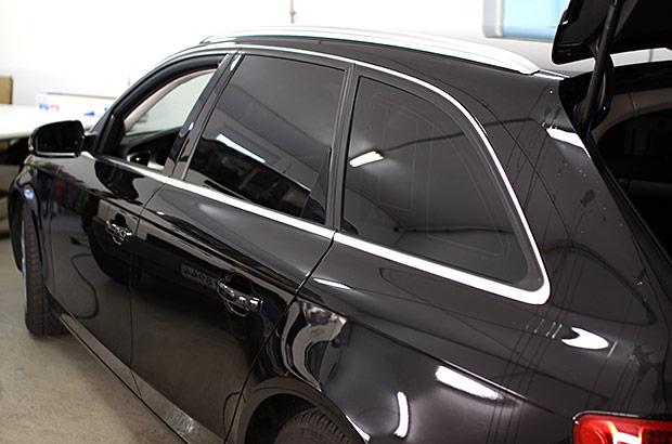 Audi Chromleisten Scheibentönung