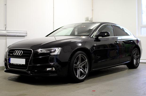 Audi A5 Scheibentönung