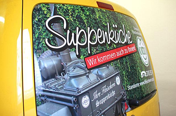 VW Caddy Designfolierung