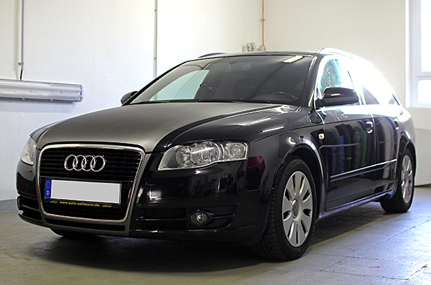 Audi A4 Avant Carbon Teilfolierung