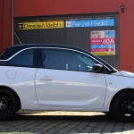 Opel Adam Dach schwarz