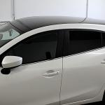 Mazda 3 - Teilfolierung schwarz