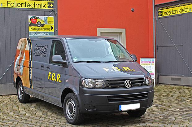 VW Transporter T5 - Designfolierung
