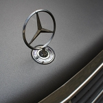 Mercedes Motorhaube Teilfolierung
