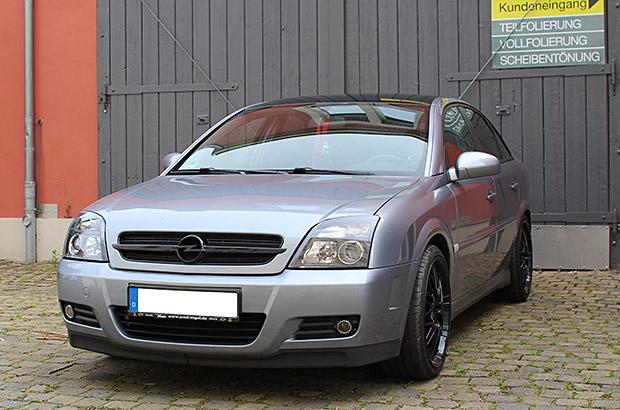 Opel Vectra Teilfolierung