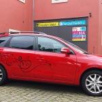 Hyundai i30 Teilfolierung