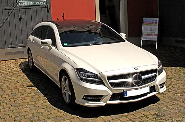 Mercedes CLS Teilfolierung
