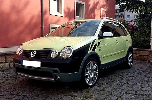 VW Stossstange Teilfolierung