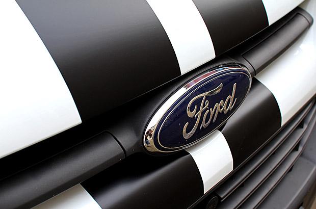 Ford Transit Teilfolierung