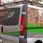 Opel Vivaro Designfolierung