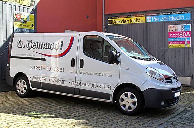 Renault Trafic Werbefolierung