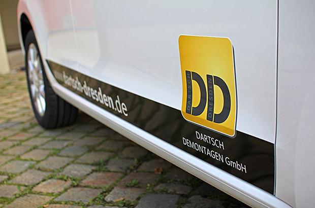 VW Up Teilfolierung