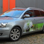 Toyota Avensis Designfolierung