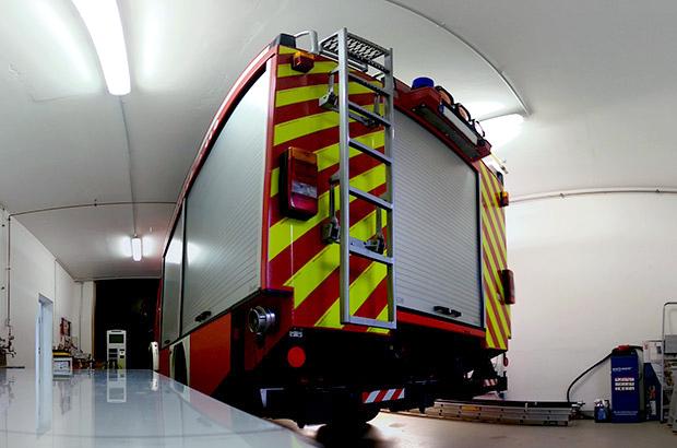 Feuerwehr, Teilfolierung