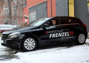 Mercedes A Klasse, Teilfolierung, Werbung