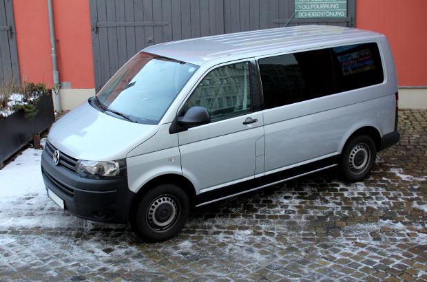 VW T5, Teilfolierung