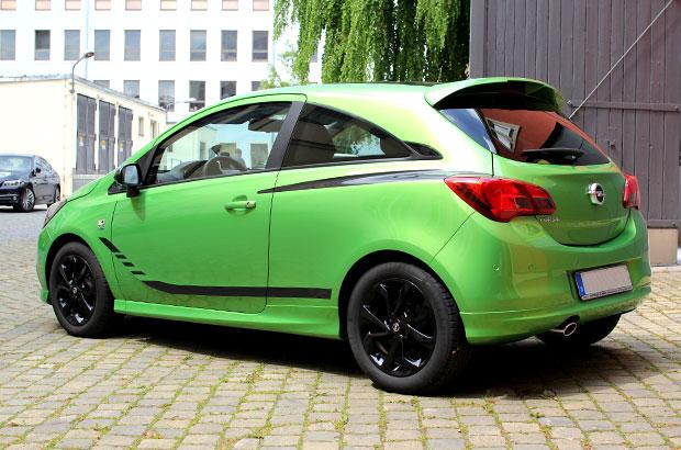 Opel Corsa E Opc, Teilfolierung