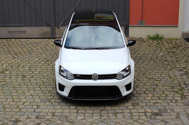 VW Polo WRC, Teilfolierung