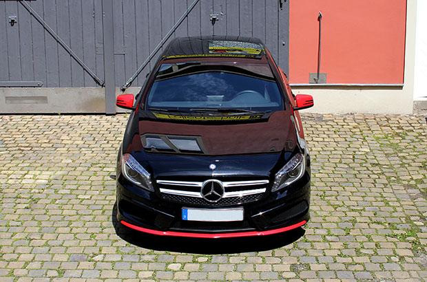 Mercedes-Benz A-Klasse AMG, Teilfolierung