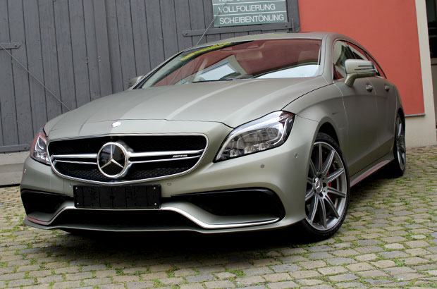 Mercedes Benz CLS AMG, Vollfolierung