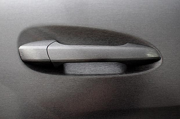 Detail Folierung Türklinke