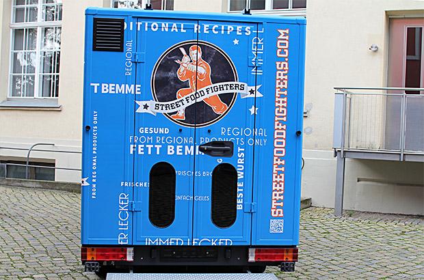 Food-Truck Designfolierung