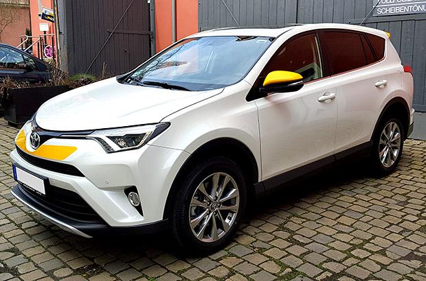 Toyota RAV4 Teilfolierung