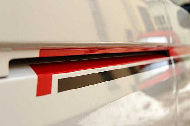 VW-T6 - Streifen Designfolierung