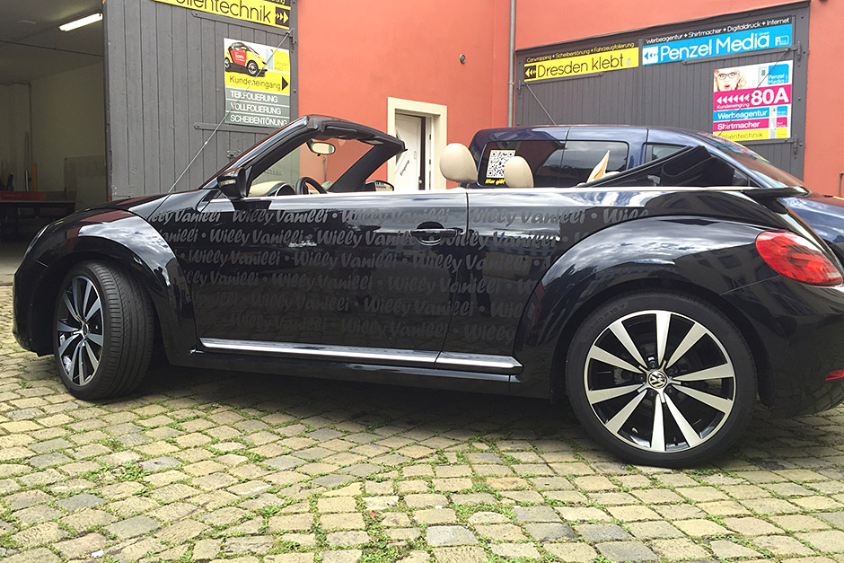 VW Beetle Cabrio - Werbung