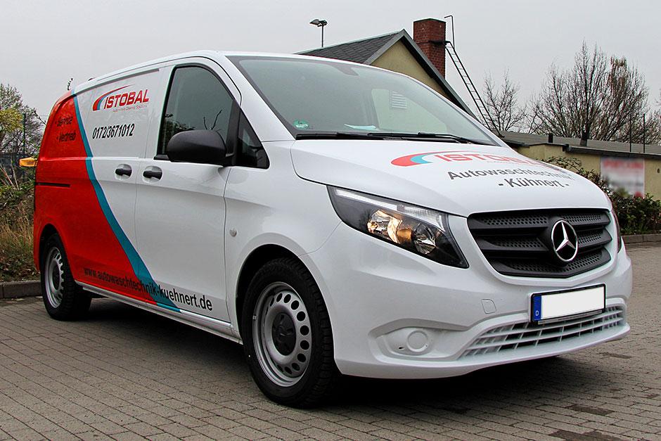 Mercedes Sprinter Designfolierung