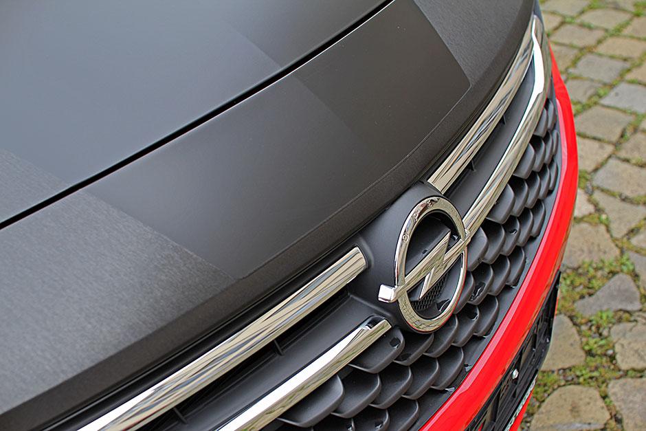 Opel-Astra - Teilfolierung