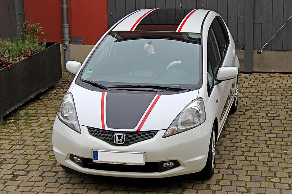 Honda Jazz - Teilfolierung