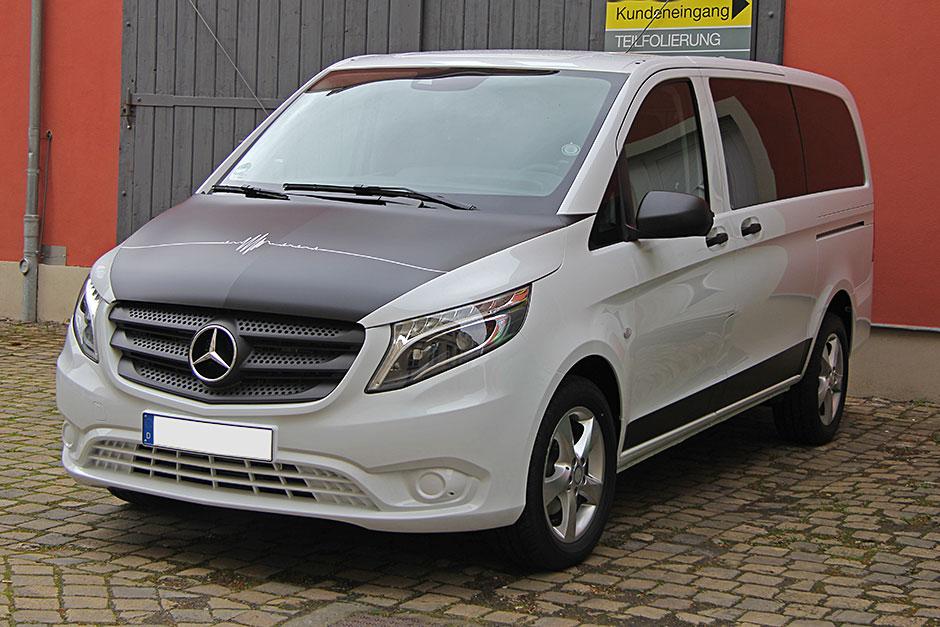 Mercedes V-Klasse - Teilfolierung