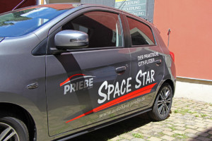 Mitsubishi Space Star Teilfolierung