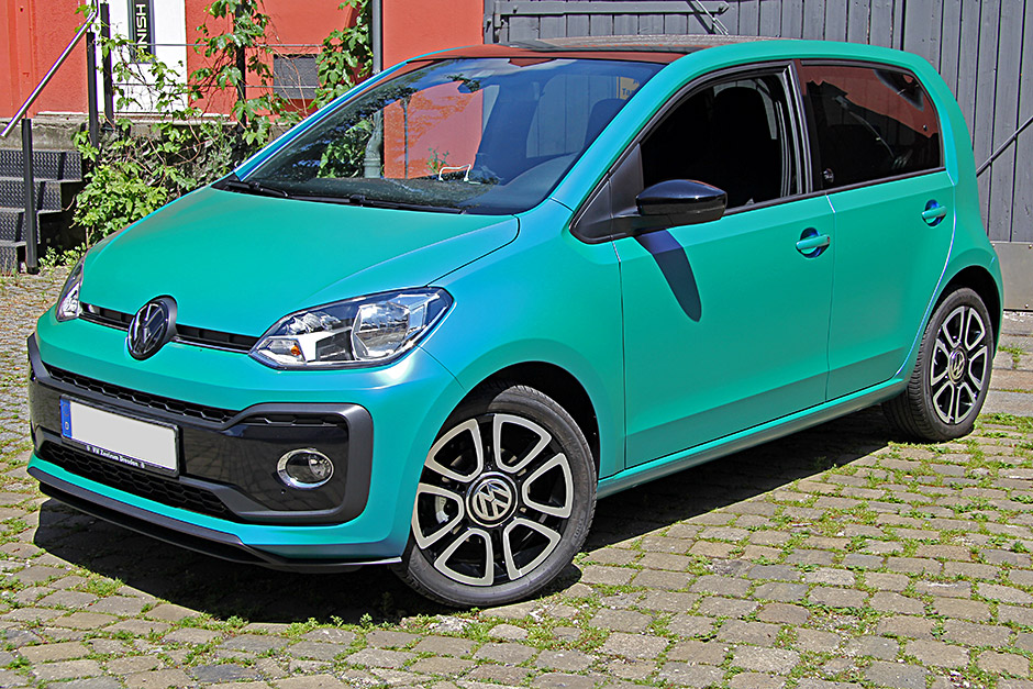 VW Up - Vollfolierung