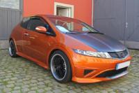 Honda Civic - Teilfolierung