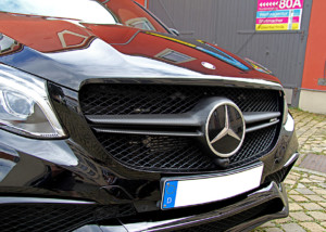 Mercedes AMG GLC - Teilfolierung