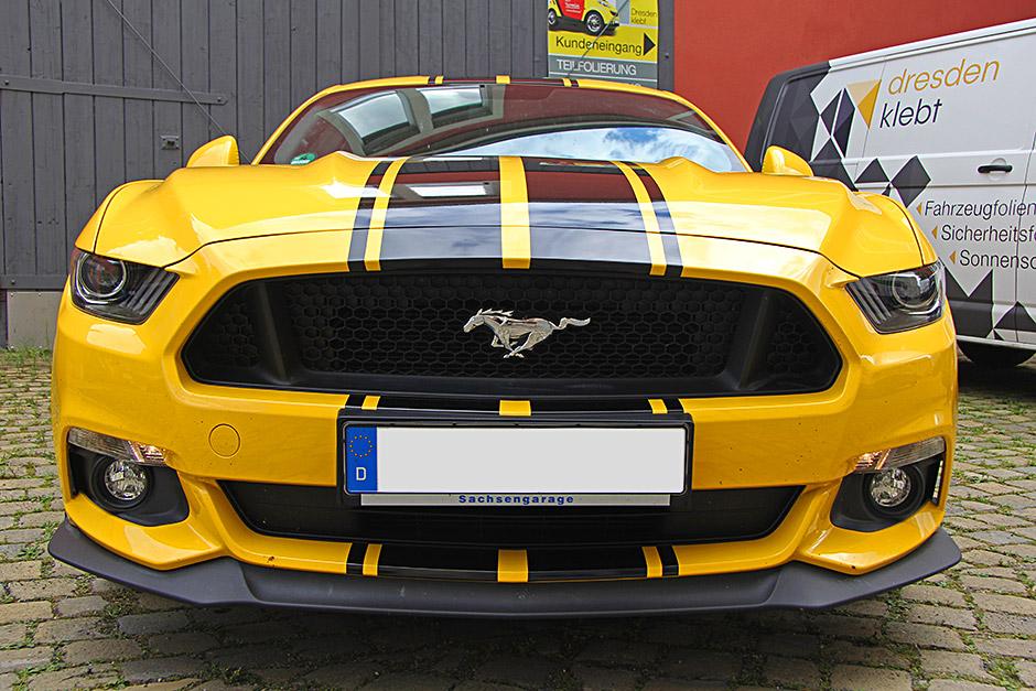 Mustang GT Teilfolierung